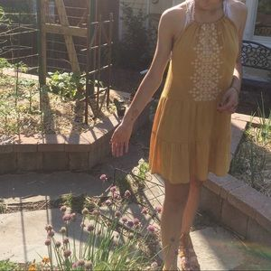 Aeropostale yellow dress